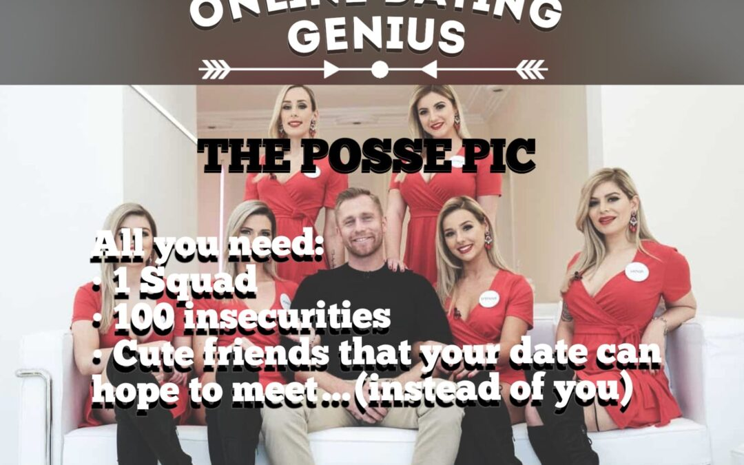 Online Dating Profile Tips – Lose the group photo